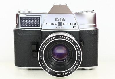 KODAK RETINA REFLEX IV + 施耐德 50/1.9 DKL 德产胶片单反相机