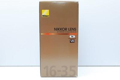95新 尼康 16-35/4 G VR 防抖镜头  自用   有包装