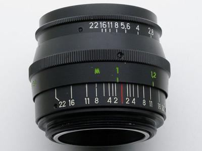 出徕卡L39接口俄产尤比杰尔旁轴镜头黑铁版Jupiter-8 50mm/F2