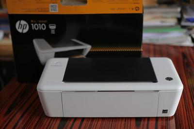 惠普hp1010彩色喷墨打印机