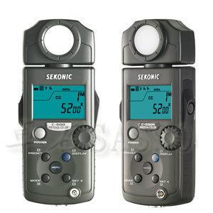 世光SEKONIC C-500R 色温表color meter 中国行货附保修卡 现货
