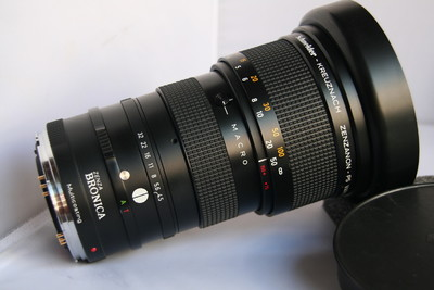 Schneider 施耐德 BRONICA 勃朗尼卡 碧浪 75-150mm/4.5 后期PS版