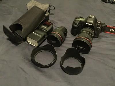 佳能 5D Mark II 35L 16-15L 580EX ii