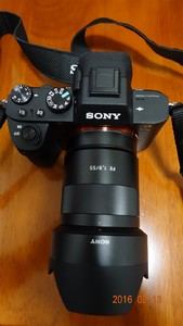 南昌出让:索尼 ILCE-7M2,镜头ZEISS E55/1.8