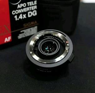 自用尼口适马1.4X 增距镜增倍镜,适马70-200 四代,小黑4代,成色新包装齐