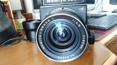 成都出玛米亚RB67S,65mm f/4镜头编号靓号84888