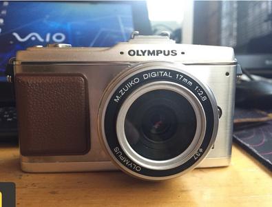 奥林巴斯 ep2 微单 带17mm f2.8 ecf取景器