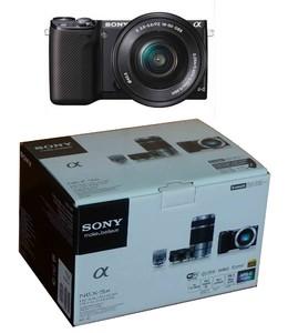 出索尼NEX-5R微单一只 VR16-50 防抖镜头一只 黑色 成色99新