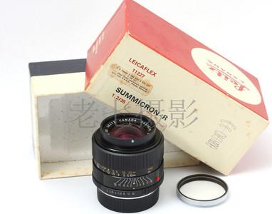 Leica/徕卡 Summicron R 35/2 一代 9片镜 带包装 L00897