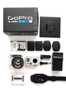 Gopro HD Hero2 高清1080运动摄像+水下附加镜头+电池