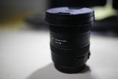 【镜头转让】EX适马残画幅广角镜头 DC HSM 10-20mm F3.5 佳能口
