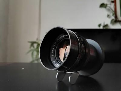 德国施耐德Schneider 55 2.0全画幅电影镜头 阿莱口改为索尼A7