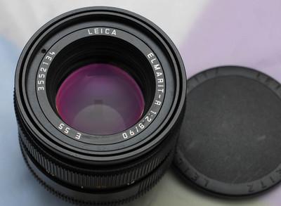 徕卡 Leica Elmarit-R 90 mm f/ 2.8 小头九 E55 德产方字版