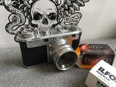 Nikon/尼康 S I 型旁轴胶片相机,功能正常,速度准确,镜片通透