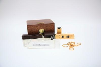 美乐时 MINOX LX selection GOLD 黄金限定纪念套装999台间谍相机