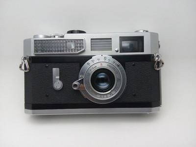 佳能7胶片旁轴相机连茵度斯塔尔50 3.5镜头