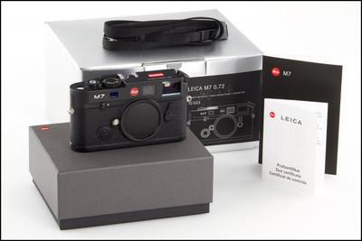 徕卡 Leica M7 0.72 奥地利 国旗版 带包装