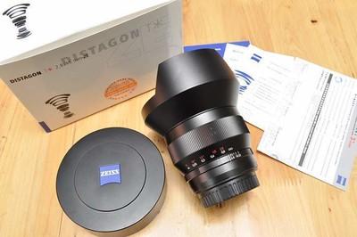 卡尔·蔡司 Distagon T* 15mm f/2.8 ZM手动镜头