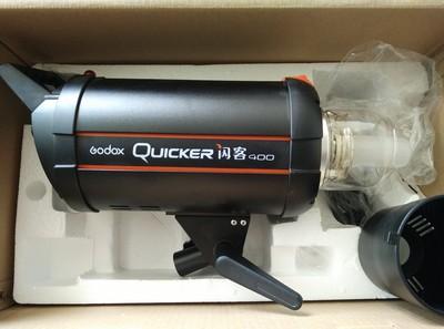 神牛 闪客高速闪光灯 Quicker400W 影棚灯 棚拍灯 影室灯 大功率外拍灯