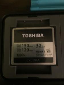 东芝 EXCERIA 1000X(32GB)/CF-032GTR8A
