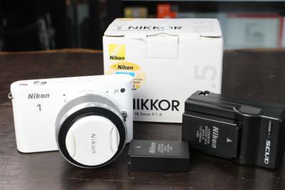 尼康 J1套机(10-30mm) 18.5mm 尼康微单数码相机薄