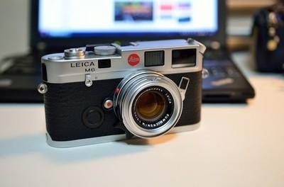 Leica M6 银色 小盘 徕卡  银七妹 七枚玉