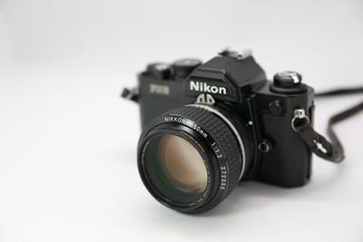 个人转让97新尼康FM2带50mm F1.2镜头(日本淘回,品质保证)