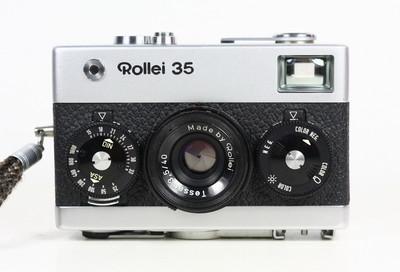 禄来 ROLLEI 35 银色 135胶卷旁轴相机 Tessar