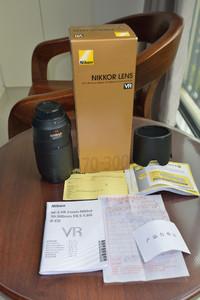 尼康 AF-S VR 70-300mm f/4.5-5.6G IF-ED