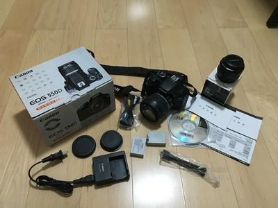 出个自用的佳能550D,18-55+50 1.8入门双镜头