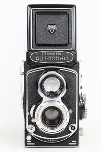 美能达 Minolta Autocord 美能达 日产120双反相机 好品 美能达双反,经典机械。