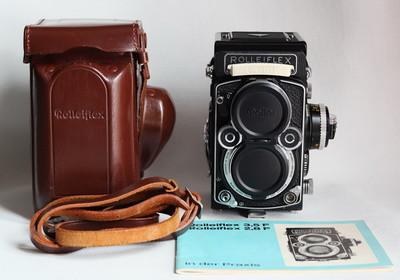 Rolleiflex 2.8F 施耐德Xenotar镜头 大白脸 配件齐 收藏级成色