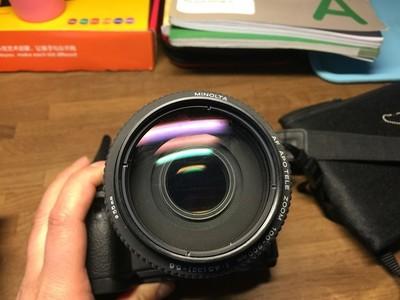 美能达老头 AF100-300 4.5-5.6 APO 变焦镜头85新SONY A7 自动A口