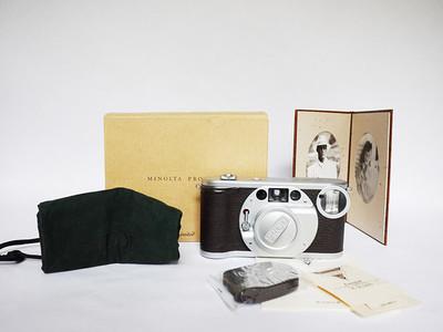Minolta 美能达 限量版 Prod-20'S 胶片 旁轴相机 全套包装说明书