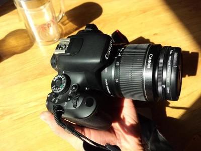 转让家用Canon佳能EOS 600D套机(99成新)