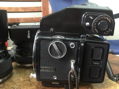 bronica勃朗尼卡ETRS 645中画幅胶片机 一机三镜