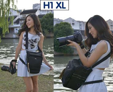 全新赛富图 H1 XL专业三角便携专业摄影包转让