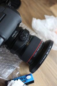 佳能24TS-E 24MM 二代移轴镜头 自用半年不到