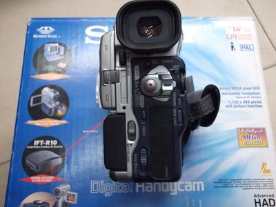 全套包装索尼摄像机DCR-PC100E,九九新,功能完好
