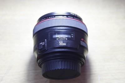 出售15年大陆行货佳能 EF 50mm f/1.2L USM