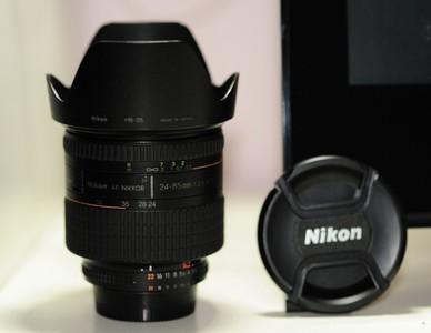 超低价出  尼康 24-85mm f/2.8-4D AF Zoom-Nikkor 全幅镜头