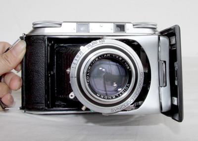 福伦达voigtlander Bessa II HELIAR 海利亚105/3.5镜头 皮腔机