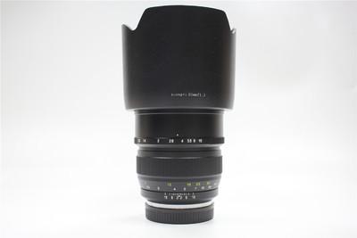 98新中一光学 FE 85mm f/1.2 大眼睛 佳能口 全套包装 支持置换