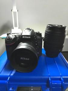 尼康D7100+18105+351.8G