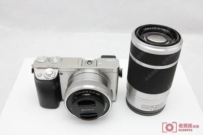 索尼A6000套机99新16-50可配55 210双镜头套机 支持置换性价比高