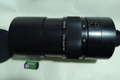 很新的俄产MC MTO-11A(前苏联-母托)1000mmF10折反镜头可换K3