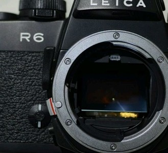Leica R6徕卡莱卡,全金属机械相机,自带测光!