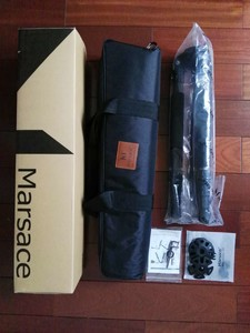 出手马小路 MARSACE MT-3541S 碳纤无中轴组合系列3号三脚架