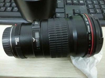 自用98新 EF200  2.8  II 定焦镜头