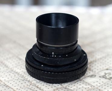 极少见雨果梅耶 Hugo Meyer Trioplan 4cm 40 2.9 电影镜头 A7无暗角